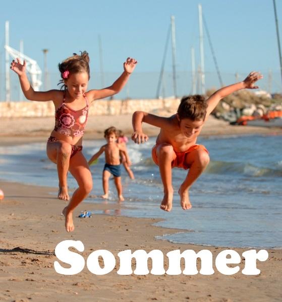 Costa Daurada - Nens platja Salou © Patronat de Turisme de la Diputació de Tarragona