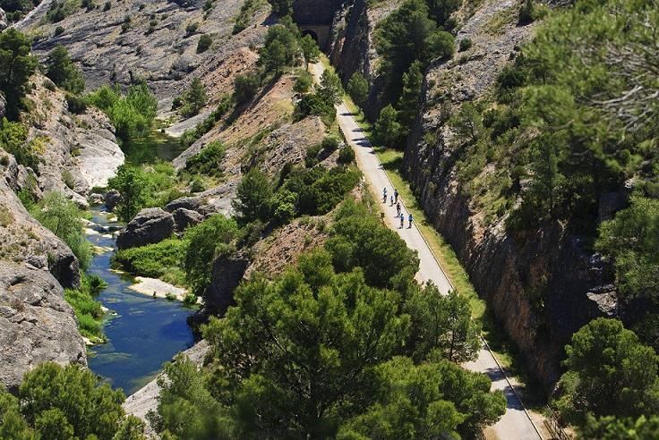 Via Verda Terra Alta i el Canaletes © Patronat de Turisme de la Diputació de Tarragona - Terres de l'Ebre