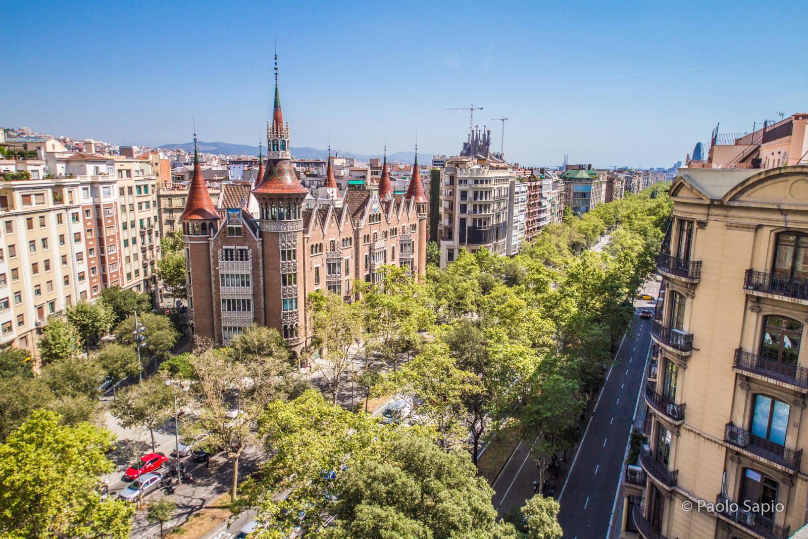 Stadtpalast im Eixample, Barcelona: La Casa de les Punxes