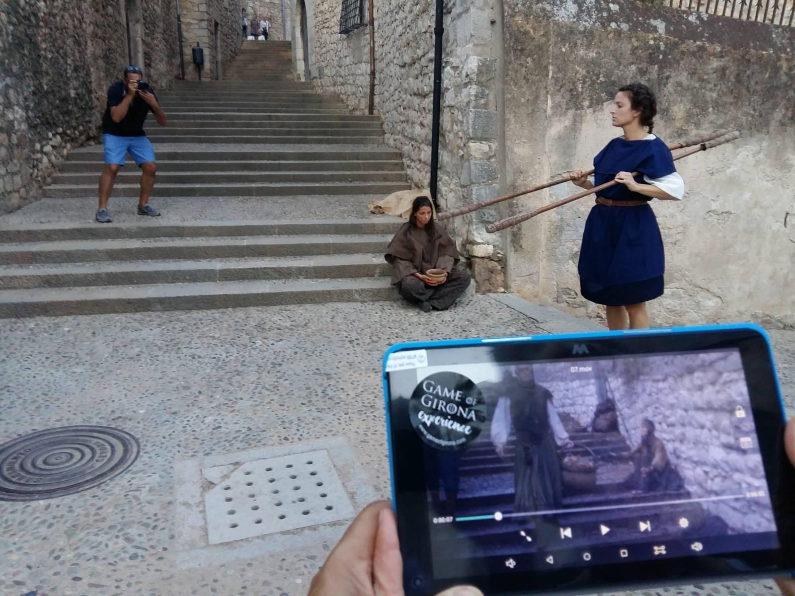 """Die Führung """"Games of Girona"""" © Associació Guies de Girona"""