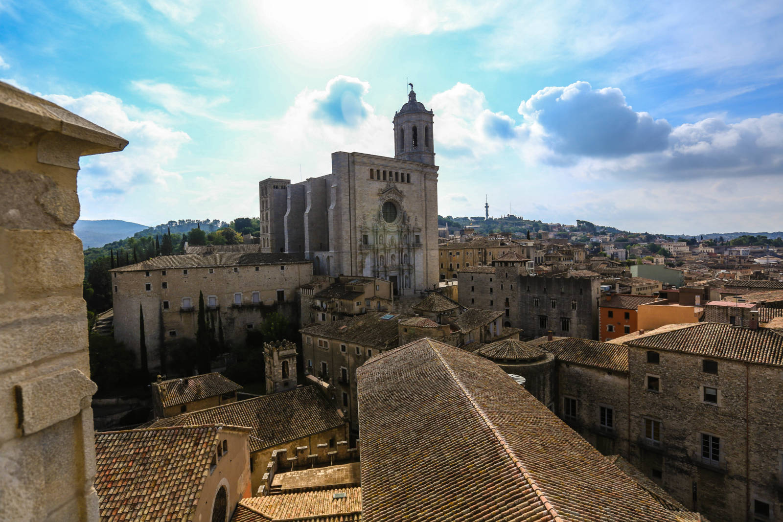 Die Kathedrale von Girona © JD Andrews - Arxiu Imatges PTCBG