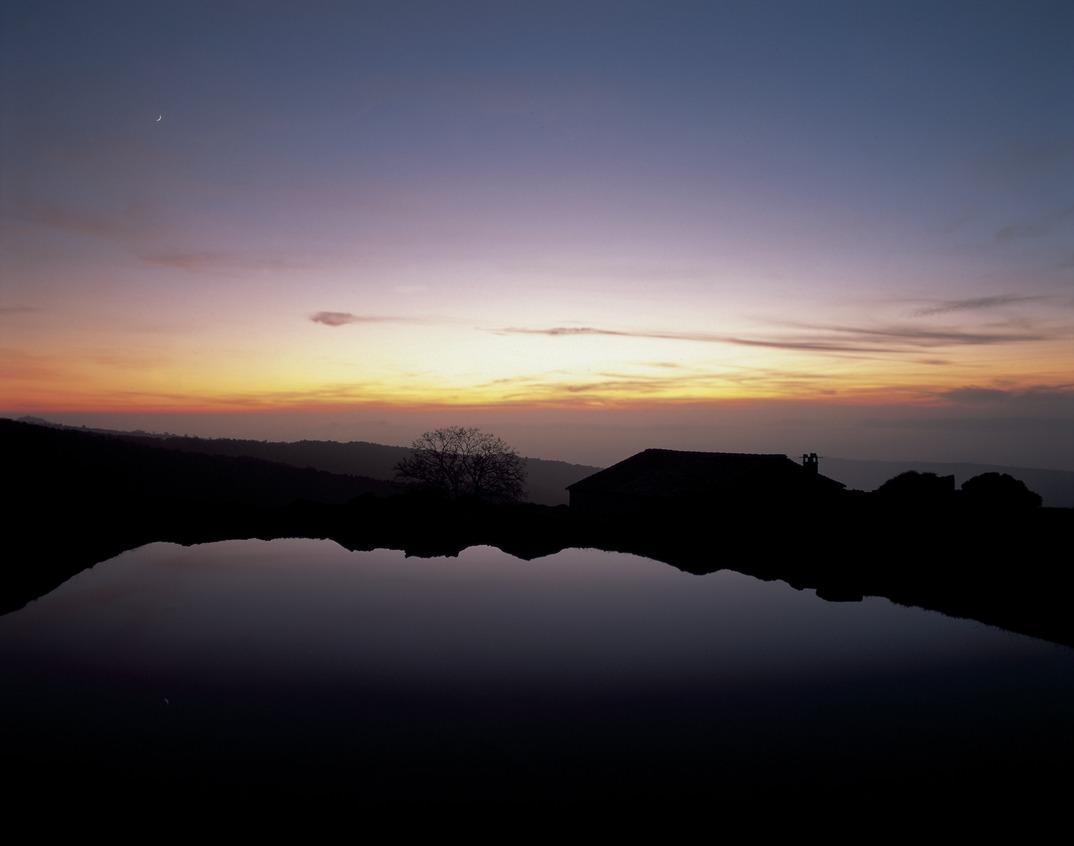 Sonnenaufgang in Montseny, Katalonien