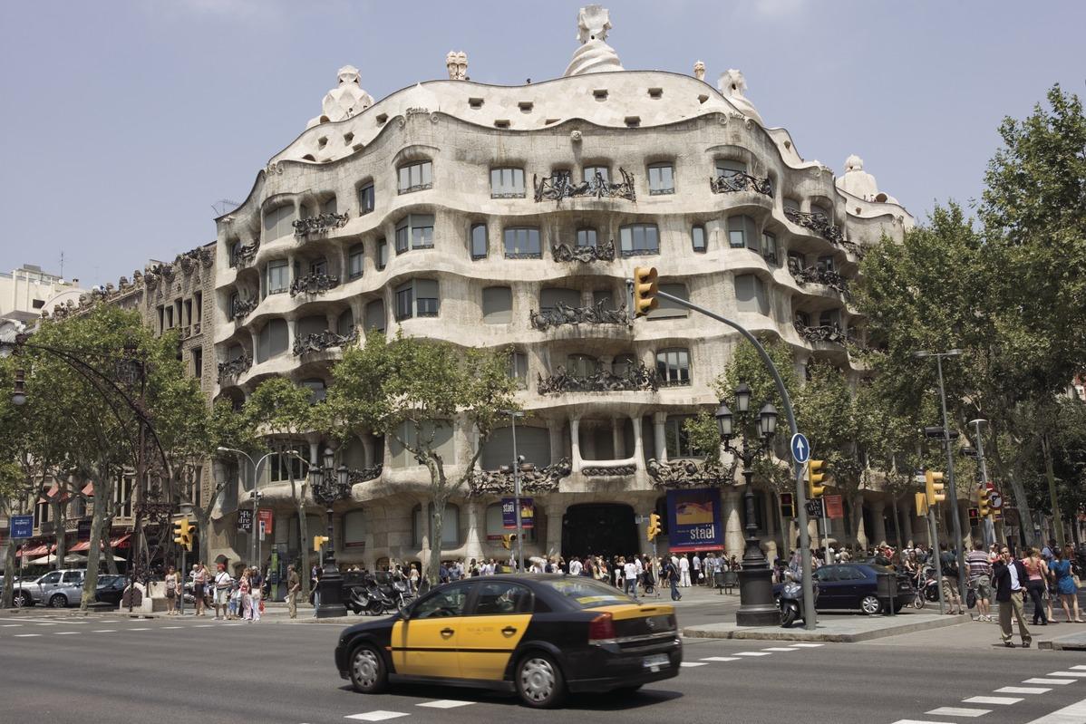 Casa Milà, Gebäude von Gaudí in Barcelona
