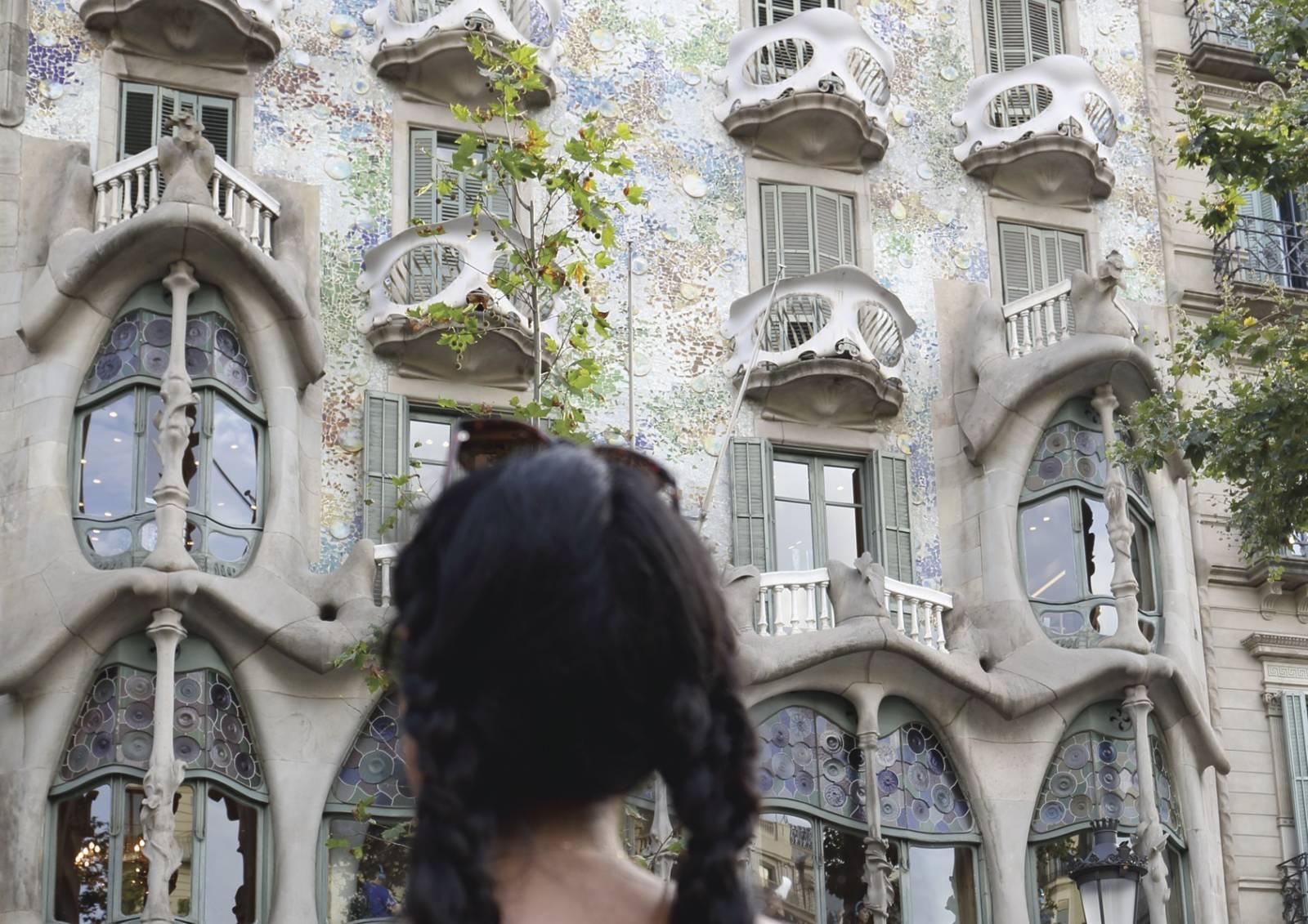 Casa Batlló von Antoni Gaudí in Barcelona
