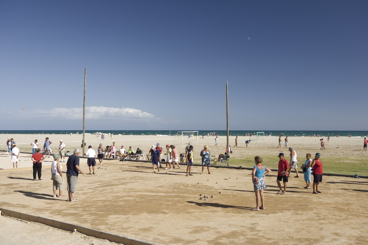 Strand von Calafell in Kataloniens Costa Daurada
